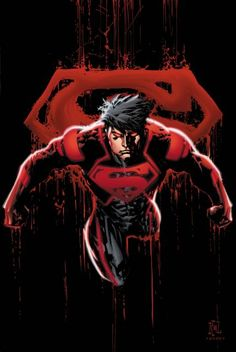 Superboy....Kon-El/ Connor Kent is human/Kryptonian hybrid clone and created to be the ultimate living weapon.