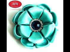 Здравствуйте, друзья!!! Буду рада видеть вас в своей группе в Контакте http://vk.com/club106303762 Сегодня делаем мятный цветок из атласной ткани. Материалы ...