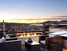 modern patio in San Francisco by John Maniscalco Architecture