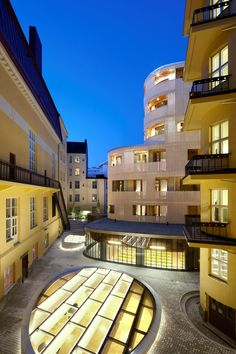 Mooi sfeertje; Paasitornihotel Helsinki