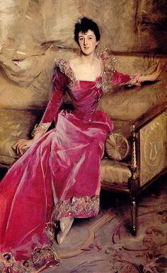 Violet Hammersley, wife of Hugh Hammersley 1892-93 John Singer Sargent