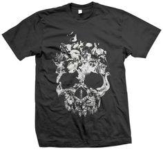 I like the t-shirt, and I like the website. Don't judge me. So I'm a little dark...