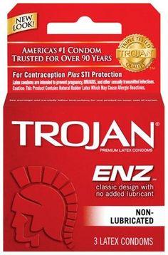 No non powder condoms lubricated