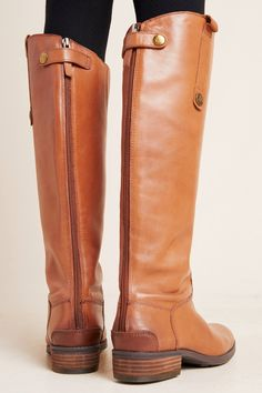Sam Edelman Penny Tall Boots von in Yellow Größe: 10 bei Anthropologie Lace Up Riding Boots, Riding Boot Outfits, Leather Riding Boots, Cowgirl Boots, Combat Boots, Tall Boots Outfit, Cute Boots, Sam Edelman Boots, Tall Leather Boots