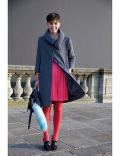 neutral grey with hot orange /pinks - Google Search