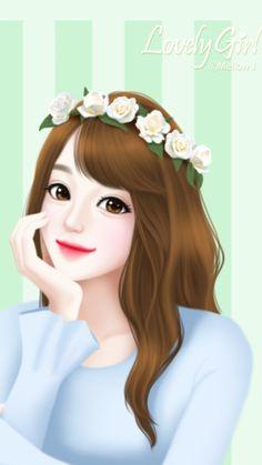 Cartoon Girl Images, Girl Cartoon Characters, Cute Cartoon Girl, Anime Girl Cute, Anime Art Girl, Cute Girl Drawing, Cartoon Girl Drawing, Anime Girl Drawings, Cute Girl Hd Wallpaper
