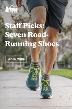 Check out 7 running shoes selected by REI staff members. Road Running, Best Running Shoes, Camping, Exercise, Journal, Health, Check, Top Running Shoes, Campsite