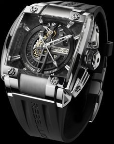 Skeleton Regulator Manufacture Developed to Rebellion's exacting specifications… Cute Watches, Elegant Watches, Fancy Watches, Awesome Watches, Unique Watches, Petite Blonde, High End Watches, Skeleton Watches, Luxury Watches For Men