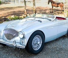 "1956 Austin-Healey 100M ""Le Mans"" Roadster. Janos Csoma ©2012 Courtesy of RM Auctions"
