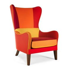 Mid century modern chair in fun colours: Jackson Crazy