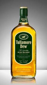Tullamore Dew is a mixture of grain whiskey and Irish malt whiskey. It offers a hint of the Irish coastline in its blend, more so than other blended Irish whiskies, which results in a slightly briny character to the nose. There are also notes of brown sugar, caramel, and oak present in this whiskey's bouquet. On the palate, some tasters detected a hint of iodine behind the sweet, malty notes at the forefront of this whiskey. It has a quick, almost ephemeral finish.