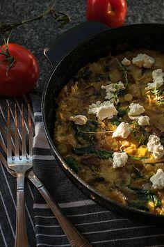 about Frittata on Pinterest | Frittata recipes, Asparagus frittata ...