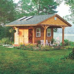 Now You Can Build ANY Shed In A Weekend Even If You've Zero Woodworking Experience! Start building amazing sheds the easier way with a collection of shed plans! Wood Shed Plans, Shed Building Plans, Diy Shed Plans, Storage Shed Plans, Barn Plans, Garage Plans, Tool Storage, Diy Storage, Pool Shed