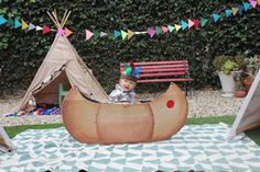 Carrie Karen N's Birthday / Cowboys and Indians - Little Big Man is One at Catch My Party Indian Birthday Parties, Indian Party, Birthday Ideas, Little Man Birthday, Cowboy Birthday, Indian Pow Wow, Pow Wow Party, Fundraiser Party, Wild West Party