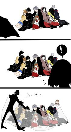 Big bois and their smol beans Angel Of Death, Anime Manga, Anime Art, Ib Game, Mad Father, Susanoo, Satsuriku No Tenshi, Rpg Horror Games, Rpg Maker