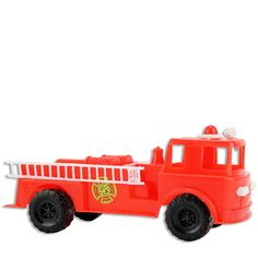 Large Fire Truck Cake Topper from Layer Cake Shop! #firefighter #rescue #engine #fireman #boy #birthday