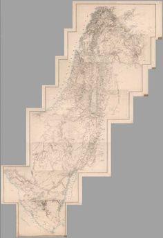 David Rumsey Historical Map Collection | Atlas von Asien in Zwanzig Blaettern, Zu C. Ritter's Allgemeiner Erdkunde, II. Abtheilung, 1840, (with) Atlas von Palaestina und der Sinai Halbinsel, 1850.