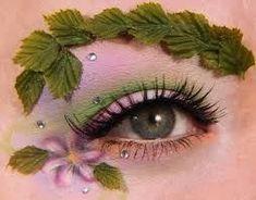 woodland fairy, I like the eyebrow idea. Woodland Fairy Makeup, Woodland Fairy Costume, Woodland Elf, Elf Costume, Costume Makeup, Costume Ideas, Fantasy Hair, Fantasy Makeup, Maquillaje Halloween