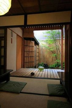 Japanese Style House, Traditional Japanese House, Japanese Style Bedroom, Asian Interior, Japanese Interior Design, Room Interior, Japan Design, Tatami Room, Interior Architecture