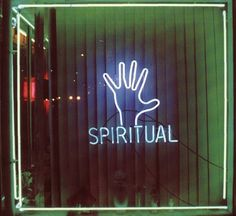 Spiritual Shop Neon Light Up Sign   Psychic Storefront Lights   Palmistry   Hand Reading   Palm   Divination   Neons   Window