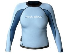 Body Glove Aura Womens Reversible Surf Shirt (black/blue, 9/10)
