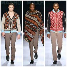 Fashion for men from Africa - MaXhosa