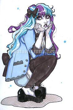 Monster High's Twyla.
