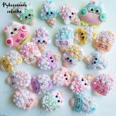 Image may contain: food Felt Crafts Diy, Foam Crafts, Felt Diy, Craft Gifts, Fabric Toys, Felt Fabric, Sewing Toys, Sewing Crafts, Cute Polymer Clay