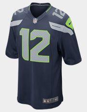 Jersey Nike NFL Seattle Seahawks Nº 12 - Fan
