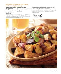 Grilled southwestern potatoes