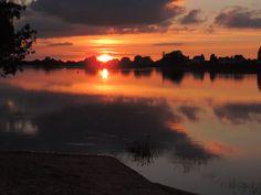 Derniers rayons sur la Loire à St Mathurin 05-07-16