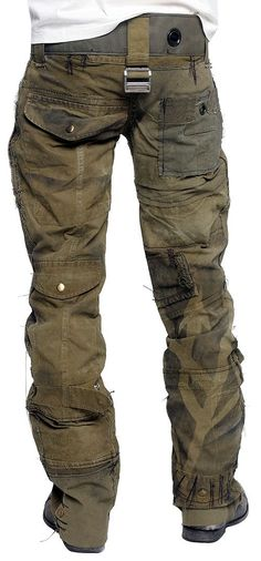 Men's JUNKER Designs - CALL OF DUTY Custom Army Pants2