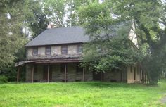 Some old Quaker meeting houses  in Pennsylvania