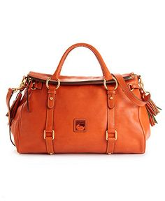 Dooney & Bourke Handbag, Florentine Vaccheta Satchel - Dooney & Bourke - Handbags & Accessories - Macy's