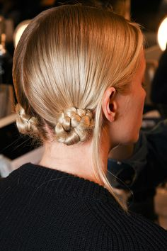 Hair by Guido Palau for Redken. Marc Jacobs Collection Fall 2012.