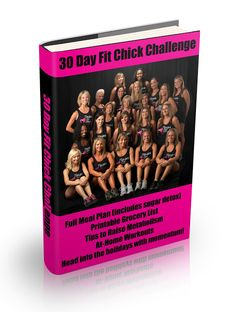 Texas Fit Chicks 30 Day Challenge: includes meal plans, grocery lists, and at-home workouts.