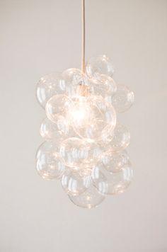 Benutzerdefinierte Klarglas Blase Kronleuchter von TheLightFactory - I love bubbles