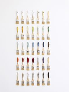 Colorhouse Brush Wall Using The Color By Crate And Barrel Palette Photo