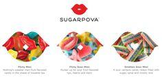 Sugarpova toppings at Pinkberry