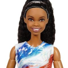We're so inspired by Gabby Douglas, we created a one-of-a-kind #Barbie doll in her likeness! She's an example that if you work hard and dream big, #YouCanBeAnything! #Shero