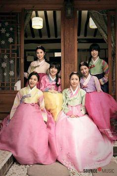 [Gfriend] Happy Lunar New Year! Kpop Girl Groups, Korean Girl Groups, Kpop Girls, G Friend, Friend Zone, Lunar New Year Greetings, Korean New Year, Sinb Gfriend, Gfriend Album