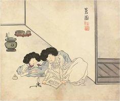 (Korea) 건곤일회첩 by Hyewon Shin Yun -bok ? color on paper. Arirang Tv, Korea Tourism, Korean Painting, Modern Pictures, Korean Art, Korean Traditional, Old Paintings, Tattoo Inspiration, Painting Prints