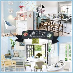 Take 5:  Cottage Fresh Decor
