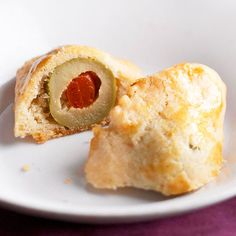 Olives Wrapped in Cheese Pastry