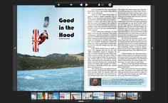 Good in the Hood Edge Magazine Issue 1: Passion article by Matt Sweeting