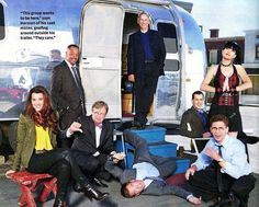 Cote de Pablo, Rocky Carroll, David McCallum, Michael Weatherly, Mark Harmon, Sean Murray, Pauley Perrette, & Brian Dietzen