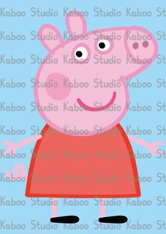 Instant Download - Clipart - Peppa Pig