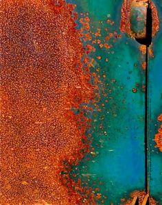 "Color scheme for living room? ""Orange and Aqua Rust."" More"
