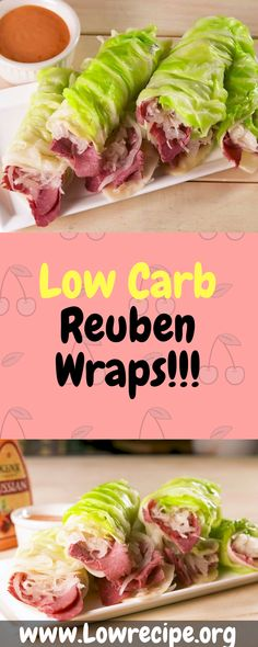 These Reuben wraps are the low-carb way to eat your favorite sandwich… Ingredients [ For 4 to 5 people ] [ Preparation time : 22 minute – Cooking time : 25 minutes ] 6 leaves cabbage 12 slices Swiss cheese lb. Keto Foods, Ketogenic Recipes, Keto Snacks, Low Carb Recipes, Diet Recipes, Healthy Snacks, Healthy Eating, Cooking Recipes, Healthy Recipes