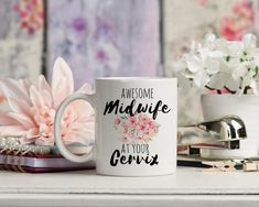 Awesome midwife mug, personalise the text for free. Free UK shipping. worldwide shipping available. · · · · · · · · #midwife #midwifery #midwifelife #studentmidwife #birth #midwiferystudent #homebirth #pregnancy #midwifeassistant #midwifeinthemaking #midwiferynotes #midwiferyupdate #midwifes #midwifetobe #midwifery_notes #midwifeatyourcervix #midwiferycare #baby #newborn #midwifeappointment #thankyoumidwife #nurse #birthwithoutfear #naturalbirth #midwives #waterbirth #motherhood… Gifts For New Moms, Gifts For Friends, Midwife Gift, Engagement Mugs, Tired As A Mother, Tired Mom, Mean Girl Quotes, Future Mrs